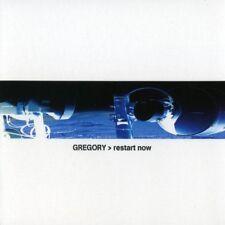 GREGORY restart now CD Digipack 2004 LTD.500
