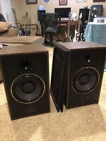 "Vintage Acousti-phase Phase 150 Floor Speakers 10"" woofers"