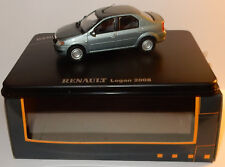ELIGOR NEW RENAULT LOGAN BERLINE 2008 BLEU ELECTRIQUE 1/43 IN BOX 00746887