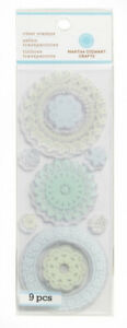 Martha Stewart Clear Stamps, Doilies. MSC. Free Delivery