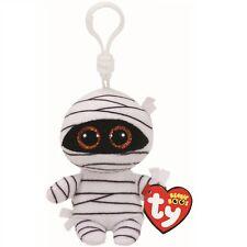 Ty Beanie Babies 35111 Boos Mummy the Halloween Boo Key Clip