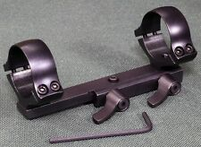 BAIKAL IZH  Quick Detach scope mounts, 30 mm rings and bases, STEEL MATTE .