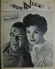 * NOVELLA N°3 ANNO XXXV °17/GEN/1954 : ESTER WILLIAMS e VICTOR MATURE- V. BETTIS
