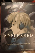 APPLESEED RARE OOP DVD 2-DISC ANIMATION LIMITED COLLECTOR'S EDITION STEELBOOK