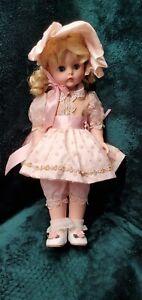 "Rare Madame Alexander Pink Dot Tulle Kelly 20"" Doll Original Tags"