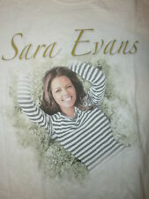 SARA EVANS CONCERT T SHIRT Real Fine Places Tour 2005 Sexy Cute Country Star SM
