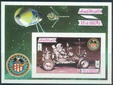 Ras al Khaima 1972 ** Bl.131 B Weltraum Space Apollo 16 Mondauto
