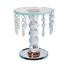 Champagne 5 Ball Base Crystal Home Decor Candle Holder Wedding Bar Party Dinner