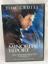 Minority Report (Dvd, 2003 Widescreen) Tom Cruise