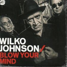 Wilko Johnson Blow Your Mind CD With Signed Autographed 12x12 Print 500 Only