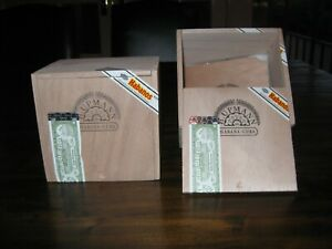 2 x Large Solid Cedar H. Upmann Magnum 54 Cigar Boxes/Cabinets