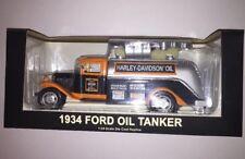 2004 Harley Davidson Oil 1934 Ford Oil Tanker,1:24 Die Cast (B40)