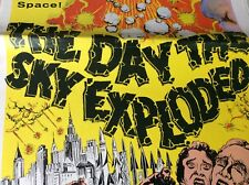 THE DAY THE SKY EXPLODED  Pressbook  1958