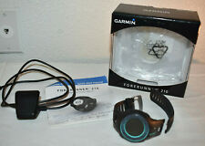 Garmin Forerunner 210 GPS watch with charging cable needs new band