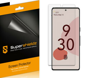 6X Supershieldz Clear Screen Protector Saver for Google Pixel 6