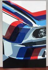 Premium HD Panel Aluminum BMW M ARTWORK Racing  Reproduction Garage Sign