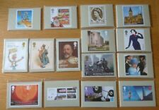 2012 COMPLETE YEAR SET OF 15 SEALED COMMEMERATIVE PHQ CARD SETS.