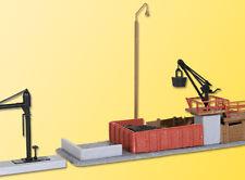 Kibri 37434 coaling con grúa de agua, kit construcción, N