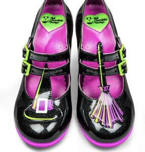 Hot Chocolate Design Chocolaticas Hocus Pocus Mary Jane Heels Shoes Size 39 US 9