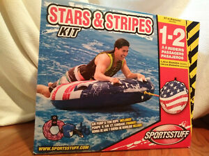 Stars & Stripes Tubing Kit, Everything needed for summer fun,New in Original Box