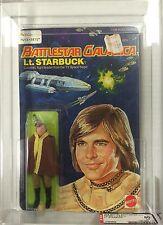 1978 Battlestar Galactica Lt. Starbuck MOC 6 Back GRADED AFA 80 NM 17382899