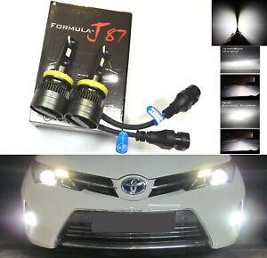 LED Kit G8 100W H11 5000K White Two Bulbs Fog Light Replacement Plug Play Lamp