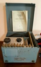 Vintage Resistor Load Bank and Field Rheostat, Heyer Products Bellville N.J.
