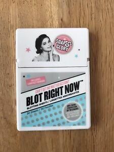 SOAP & GLORY Blot Right Now Skincare Blotting Sheets - 30 Sheets per pack New
