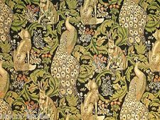 """2.4 Sq Yrd Upholstery Drapery Jacquard fabric, """"Fairy Forest"""" 79 in 200 cm width"""