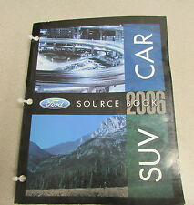 2006 Car SUV Source Book Product Facts Manual Mustang Expedition GT Focus