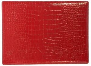 NEW Croc-Embossed Place Mats - PACK OF 4 (BM10537)
