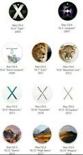 11   OS X  DVD BOOTABLE  DAL OSX  TIGER AL OSX MOJAVE MULTILINGUE