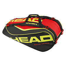Head Extreme 9R Supercombi Tennis Racquet Racket Bag - Black/Yellow/Red