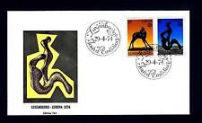 LUSSEMBURGO - 1974 - Europa. Sculture