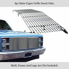 304 Stainless Chrome Billet Grille Fits 1981-87 Chevy C/K Pickup/Suburban/Blazer