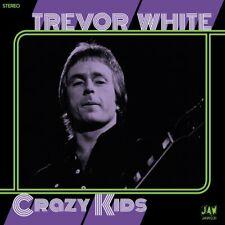 "Trevor White-Crazy Kids 7"" - RE of '70s GLAM Power Pop SPARKS Jook"