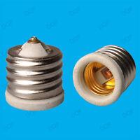 Goliath Screw E40 GES to Edison ES E27 Light Bulb Ceramic Adaptor Converter