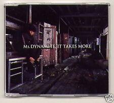 """MS. DYNAMITE, """"It Takes More"""" UK CD single + video"""