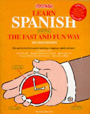 Learn Spanish the Fast and Fun Way: With Spanish-English-ExLibrary