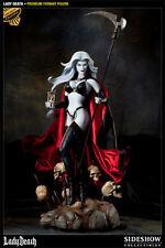 SIDESHOW EXCLUSIVE Lady DEATH 1/4 Scale PREMIUM FORMAT FIGURE NIB!! STATUE Bust