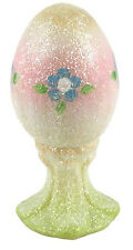 5146H3 - 3 3/4'' Springtime Glitter Egg on a Stand