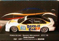 HONDA ACCORD #29 BROOKES MOTORSPORT ROCK IT CARGO BTCC98 ROBB GRAVETT ONYX XT127