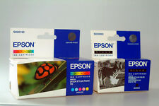 Epson original T0520+ T0501 negro + color S020089+S020093 para Lápiz Táctil