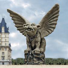 Medieval Chained Watchdog Gargoyle Dungeon Prisoner Statue Gothic