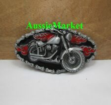 1 x belt buckle mens ladies jeans motorbike motorcycle bikie biker motor bike