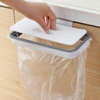 Bag Garbage Hanging Portable Holder Trash Kitchen Rack Door Storage Plastic Home