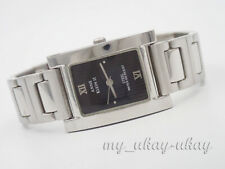 ANNE KLEIN II 10/4277L Black Dial All Stainless Steel Ladies Watch