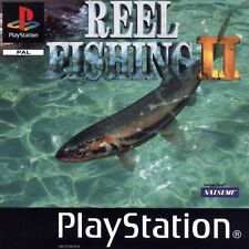 Reel Fishing II (2) - Sony Playstation / PS1 / PSX - Boxed & Complete - PAL