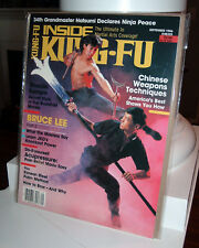 Bruce Lee - Inside Kung Fu Magazine - September 1986