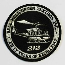 Patch Bell Helicopter 212 textron inc. aprox. 10 cm